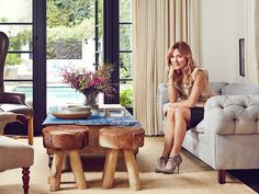 Before and After: Actress Sasha Alexander's European-Inspired L.A. Home via @MyDomaine