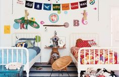 10 Boy and Girl Room Ideas {share bedroom}
