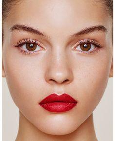 13. So passen rote Lippenstifte zum natürlichem Frauentyp. #SmileHype