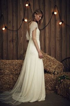 The Dolly Gown in Ivory | The Jenny Packham 2017 Bridal Collection | see them all on www.onefabday.com