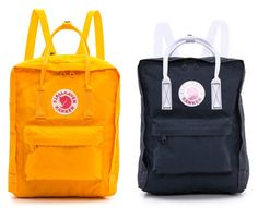 In love with the Fjällräven Kanken backpack for the kids...or us.
