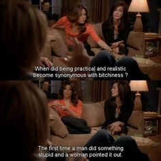 Women Point Out Men's Stupidity: Gabrielle of Desperate Housewives