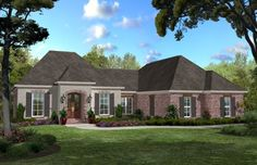 1750 Sq. Ft. House Plan [Cantor (17-005-315)] from Planhouse - Home Plans, House Plans, Floor Plans, Design Plans