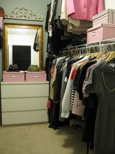 eclectic closet by Shoshana Gosselin