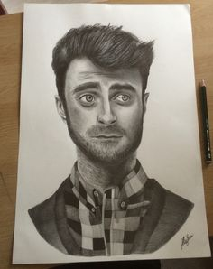 Daniel Radcliffe portrait  #danielradcliffe #portrait #art #drawing #artwork