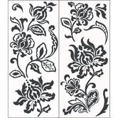 Found it at Wayfair - Deep Damask Wall Art