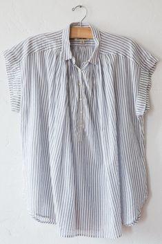 nili lotan stripe normandy blouse – Lost & Found