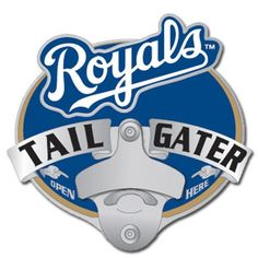 Kansas City Royals MLB Tailgater Hitch Cover