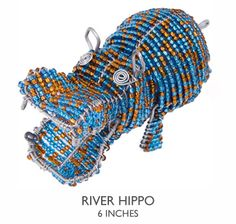 beaded goods for a cause (love this hippo!)