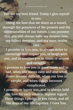 Wedding Quotes : Wedding Vows 22 Examples About How to Write Personalized Wedding Vows quotes marriage Wedding Quotes : Wedding Vows Budget Wedding, Wedding Planner, Wedding Ideas, Wedding Inspiration, Wedding Advice, Wedding Album, Wedding Themes, Wedding Pictures, Wedding Styles
