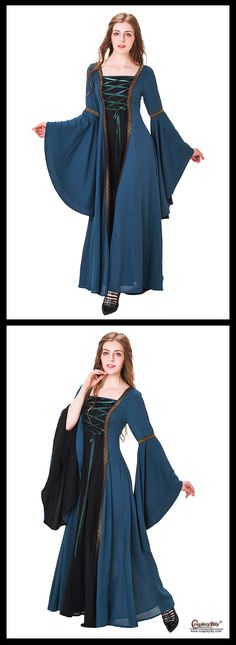 Cosplaydiy custom made medieval/renaissance dresses adult's clothes