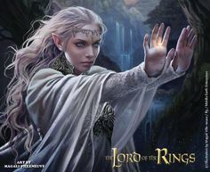 "Magali Villeneuve on Twitter: ""My artwork for Galadriel "" The Lord of the Rings"" @MiddleEarthNews #LOTR @FFGames @TolkienSociety http://t.co/Fg3tn4EsWl"""