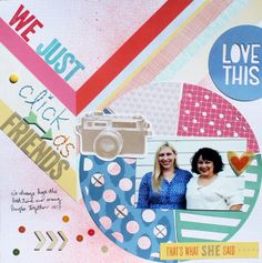 We Just Click as Friends - Scrapbook.com