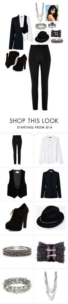 """""""MIestilo0283"""" by paolaalbo ❤ liked on Polyvore featuring River Island, Banana Republic, Yves Saint Laurent, Atea Oceanie, New Look, Valentino, Chico's and John Lewis"""