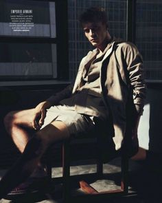 Clément Chabernaud by Hasse Nielsen for GQ Australia (SS 2013)