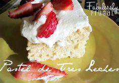 Tres Leches Cake Recipe for Cinco De Mayo! Tres Leches Recipe, Tres Leches Cake, Yummy Treats, Sweet Treats, Yummy Food, Yummy Yummy, Cake Recipes, Dessert Recipes, Baking Recipes