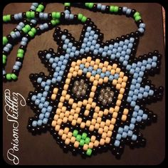 Rick Sanchez Kandi Necklace