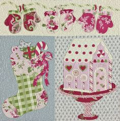 Noel - Heirloom Quilt Pattern  Verna Mosquera  The Vintage Spool