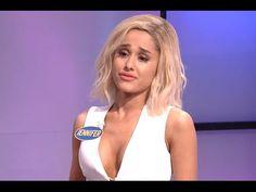Ariana Grande nailed a Jennifer Lawrence impression on SNL