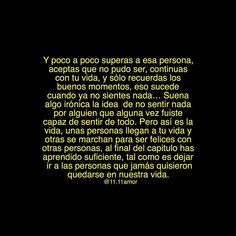 Image about text in 💔 Frases (Desamor) 💔 by La Flaka💋 Fact Quotes, Mood Quotes, True Quotes, Deep Quotes, Qoutes, Whatsapp Info, Ex Amor, Sad Texts, Sad Words