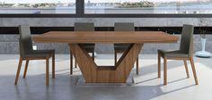 Mesa de Comedor extensible Moderna Verona en Portobellostreet.es