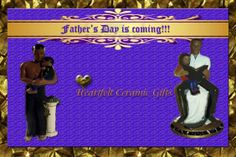 Father's Day is coming. www.heartfeltceramics.com