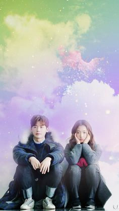 Wallpaper - fanedit by Milkyway - Pinocchio - Lee Jong Suk | Park Shin Hye