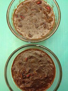 Paleo Cocoa Goji Pudding - Feeding Ger Sasser