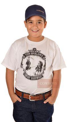 f4cc915ee9957 camiseta infantil team roping ranch p3422 - Busca na Loja Cowboys - Moda  Country