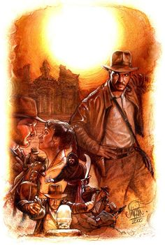 'Raiders Of The Lost Ark' by Paul Shipper