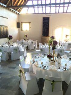 Tischdekoration f r hochzeit im jagdschloss platte for Hochzeitsdeko mainz