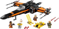 LEGO Star Wars Poe's X-Wing Fighter. | LEGO, Star Wars, Creations, Designs, Sets, Play, Build, Create, Space, Ships, Vehicles, Crafts, Transport, Stormtrooper, Jedi, Force, Planets, Lightsabers, Rebels, Vader, Empire