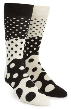 Free shipping and returns on Happy Socks 'Divided Dot' Pattern Socks at Nordstrom.com. Lively dots pattern soft socks cut from a stretchy cotton blend.