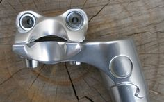 Seat Post - Nitto Rivendell - Lugged, x 250 – Rivendell Bicycle Works Things With Faces, Funny Horror, Hidden Face, Strange Places, Bizarre, Facial Recognition, Everyday Objects, Everyday Items, Face Off