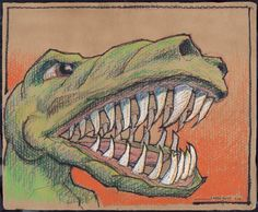 Finally - I have prints of the T-Rex! on Etsy
