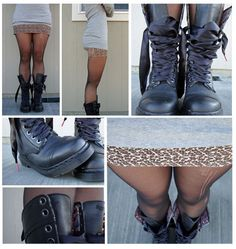 looks so easy and i LOVE those boots!