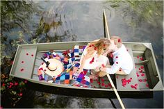 Beautiful engagement session on the water.