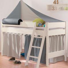 Vorhang Set In Taupe / Anthrazit (Beispiel Am 125er Bett)