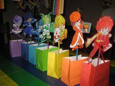 Rainbow Brite party loot bags