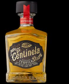 CENTINELA by Stragner and Stranger Beautiful Typography, Cool Packaging, Wine Packaging, Brand Packaging, Packaging Ideas, Distilled Beverage, Tequila Bottles, Alcohol Bottles, Perfume Bottles