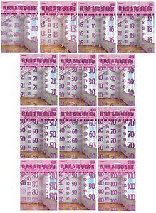 PINK-GLITZ-HANGING-DECORATION-Birthday-Party-String-Metallic-Foil-Girl-Female