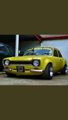 Escort Ford Escort Mk1, Ford Escort, Retro Cars, Vintage Cars, Ford Capri, Lotus Sports Car, Ford Rs, Good Looking Cars, Ford Classic Cars