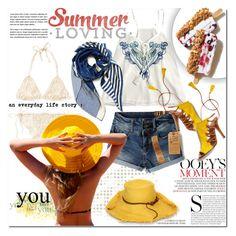 """Summer"" by barbarela11 ❤ liked on Polyvore featuring Lisa Battaglia, Aquazzura, Summer, polyvoreeditorial and polyvoretopics"