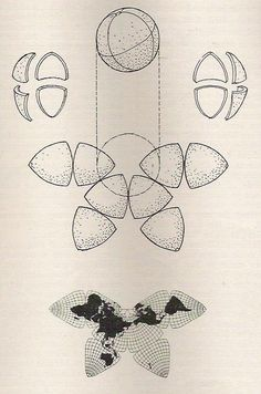 "man-in-space:      ""Cahill Butterfly Map"" (Bernard J.S. Cahill, 1919). Licensed under Public domain via Wikimedia Commons."