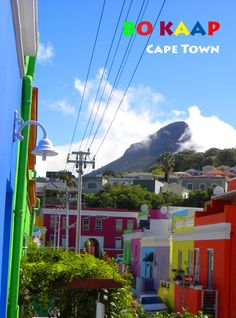 Cape Town's most colorful neighborhood. MORE: http://bbqboy.net/incredible-colors-bo-kaap-cape-town/  #bokaap #capetown #southafrica