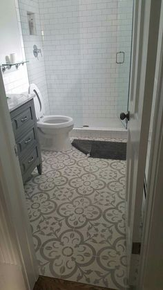 Cement tile installed in a house in Ouray by Ridgway Design Center