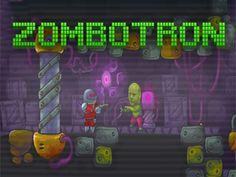 Zombotron - Zombotron es un juego de disparos en el que tiene lugar en un planeta después de un desastre post-biológica.