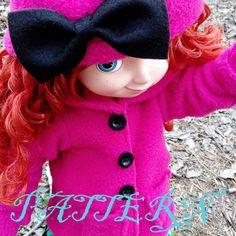 Winter Coat Hat and Mittens / Disney Animator Doll Merida