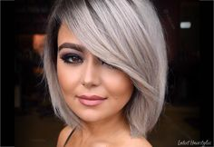 97 Best Layered Bob Haircuts with Bangs In How to Get Modern Bob Hairstyles for 2020 2021 Bangs No, 40 Stunning Short Bob Haircuts with Bangs for 17 Hottest Short Bob with Bangs You Ll See In 30 Layered Bob Haircuts for Weightless Textured Styles. Short Hair Blond, Short Bobs With Bangs, Bangs With Medium Hair, Bobs For Thin Hair, Short Hair Cuts, Short Hair Styles, Wavy Hair, Best Bob Haircuts, Bob Hairstyles With Bangs