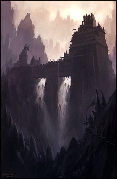 Twin Falls by andreasrocha.deviantart.com